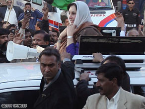 assassination of benazir bhutto The assassination of benazir bhutto occurred on 27 december 2007 in rawalpindi, pakistanbhutto, twice prime minister of pakistan (1988-1990 1993-1996) and then-leader of the opposition pakistan peoples party, had been campaigning ahead of elections scheduled for january 2008 shots were fired at her after a political rally at liaquat.