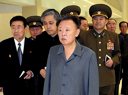 Kim Jong-il after his stroke